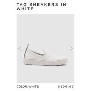 Dolce Vita White Tag Sneakers Size 10